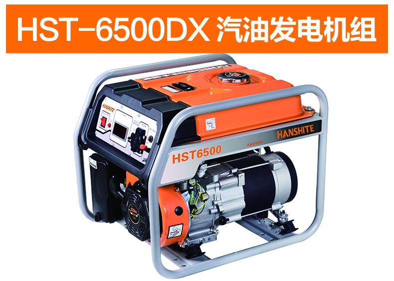 HST-6500DX汽油发电机组