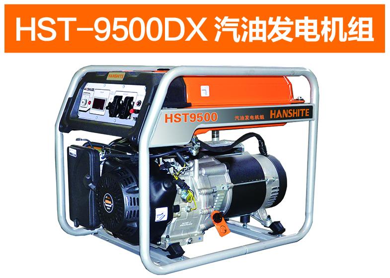 HST-9500DX汽油发电机组